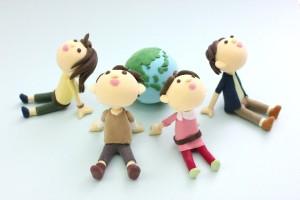 地球と仲間